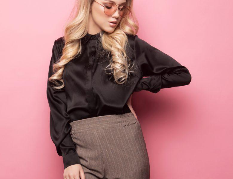 Eleganckie bluzki xxl i inne alternatywą dla sukienki